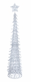 "Christmas Tree With Star and Glitter 48""H Holiday Decor"