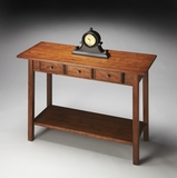 "Cinnamon Console Table 40""W by Butler Specialty"