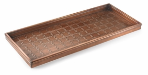 Circles Boot Tray - Venetian Bronze by Good Directions