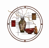 Circular Metal Unique Wall Decor Sculpture Brand Woodland