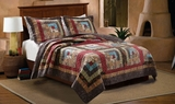Greenland Home Fashions Clairemont Colorado Cabin Twin Sized Quilt Set