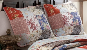 Claremont Collection Amelia Multi Color Standard Sham by Greenland Home Fashions