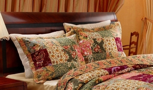 Claremont Collection Antique Chic Multi Color King Sham by Greenland Home Fashions