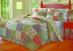 Claremont Collection Blooming Prairie Multi Color King Sham by Greenland Home Fashions