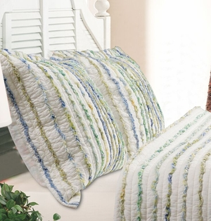 Claremont Collection Jasmine Multi Color King Sham by Greenland Home Fashions