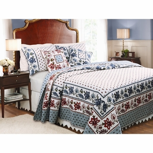 Claremont Collection Madeline Multi Color King Sham by Greenland Home Fashions
