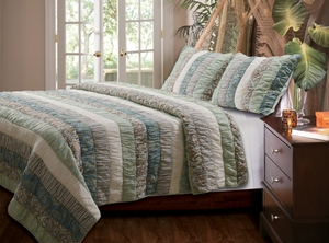 Claremont Collection Paradise Multi Color King Sham by Greenland Home Fashions