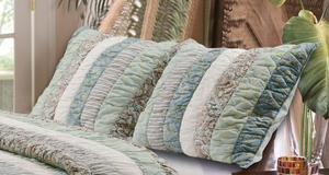 Claremont Collection Paradise Multi Color Standard Sham by Greenland Home Fashions