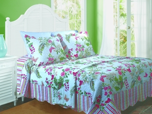 Claremont Collection Secret Garden Multi Color King Sham by Greenland Home Fashions