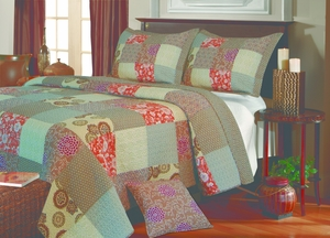 Claremont Collection Stella Multi Color King Sham by Greenland Home Fashions
