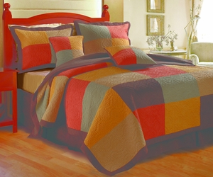 Claremont Collection Trafalgar Multi Color King Sham by Greenland Home Fashions