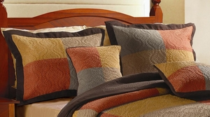 Claremont Collection Trafalgar Multi Color Standard Sham by Greenland Home Fashions