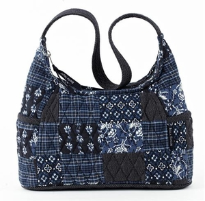 Claremont Style Handbag - Quilted Curve Purse By Bella Taylor Brand VHC