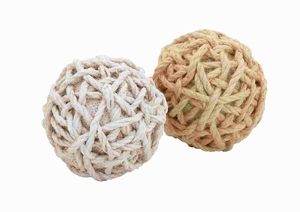Classic 2 Assorted Superior Quality Plant Material Jute Balls Brand Woodland