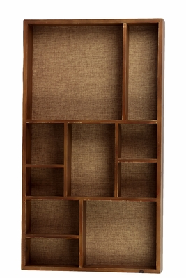 Classic and Contemporary Wooden Wall Functional Shelf
