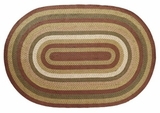 Classic and Timeless Tea Cabin Jute Rug Oval by VHC Brands
