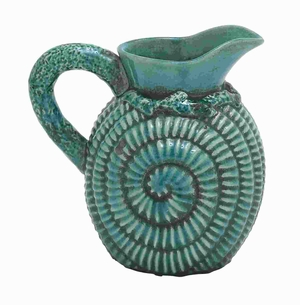 Classic Ceramic Pitcher in Vintage Design with Modern Detailing Brand Woodland