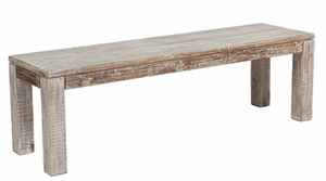 Classic Contemporary Styled Hampton Bench