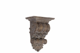 Classic Design Fiberstone Wall Decor Corbel in Brown Small