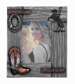 Classic Designed Picture Frame 5X7 with a Natural Wood Finish Brand Woodland