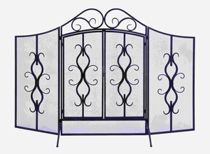 Classic Iron Spark Screen For Your Home Fireplace Brand Woodland