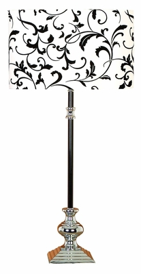 Classic Metal Table Lamp with Sturdy Contemporary Design Brand Woodland