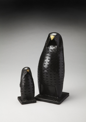 Classic Nascha Iron Owl Lantern Set by Butler Specialty