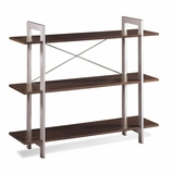 Classic Piece of Three Tier X-Text Bookshelf by Office Star