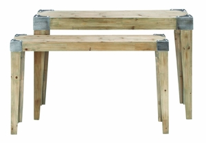 Classic Style Wooden Console Table with Soothing and Warm Effect Brand Woodland