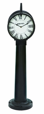 Classic Styled Free Standing Floor Clock In Iron Alloy Brand Woodland