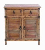 Classical Fashion Wood Cabinet with Shutter Type Accents Brand Woodland
