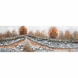Classically Painted Serene Mystic Autumn I Painting by Yosemite Home Decor