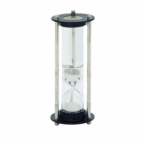 Classy Aluminum Glass Floating Sand Timer