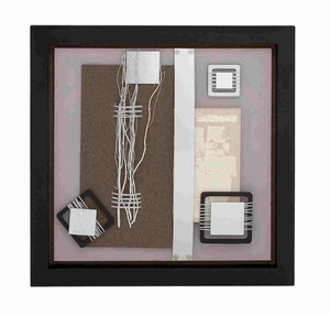 Classy and Exquisite Wall Art with Unique Abstract Design Brand Benzara