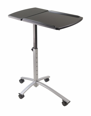 Classy and Stylish Eric Laptop Cart by Winsome Woods