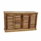 Classy Designed Natural Finish Sideboard by Yosemite Home Decor