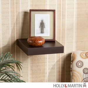 Classy Fancy Holly & Martin Cadence Floating Shelf Espresso by Southern Enterprises