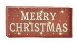 Classy Metal Led Xmas Sign - 61003 by Benzara