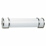 Classy Styled 2 Lights Decorative Fluorescent in Satin Nickel by Yosemite Home Decor