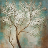 Classy Styled Artistic Tree In Bloom Painting by Yosemite Home Decor