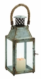 Classy Styled Attractive Metal Lantern by Woodland Import