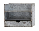 Classy Styled Awestruck Metal Wall Shelf by Woodland Import