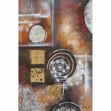 Classy Styled Beautiful Synthesis I Artwork by Yosemite Home Decor