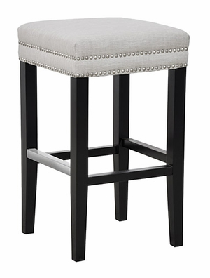 Classy Styled Collina Backless Bar Stool - Ivory