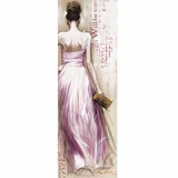 Classy Styled Fashionista II Adorable Painting by Yosemite Home Decor