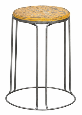 Classy Styled Geary Stool Yellow