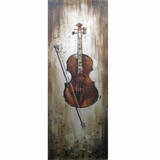 Classy Styled Instrumental Elements II Painting by Yosemite Home Decor