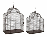 Classy Styled Metal Wire Bird Cage by Woodland Import
