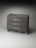 Classy Styled Palmetto Raffia Drawer Chest by Butler Specialty
