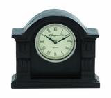 Classy Styled Shanghai Wood Table Clock by Woodland Import